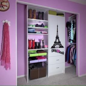 Ремонт гардеробной комнаты