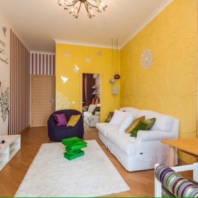 Ремонт в гостиной Омск