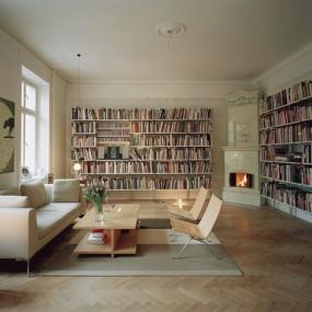 Ремонт домашних библиотек в Омске