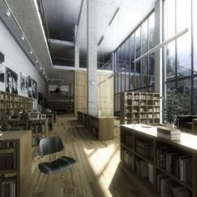 Интерьер для домашней библиотеки