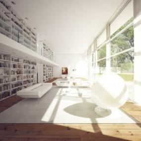 Интерьер для домашней библиотеки Омск