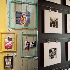 Фотографии в интерьере