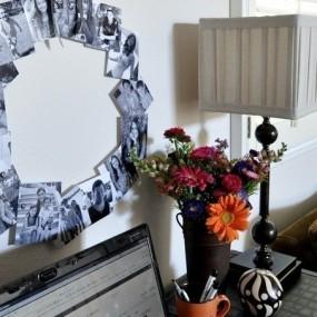 Оформление фотографий в квартире