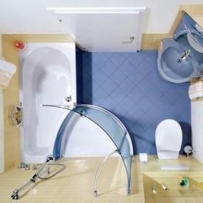 Идея планировки ванной