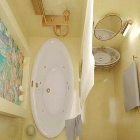 Идеи зонирования ванной комнаты
