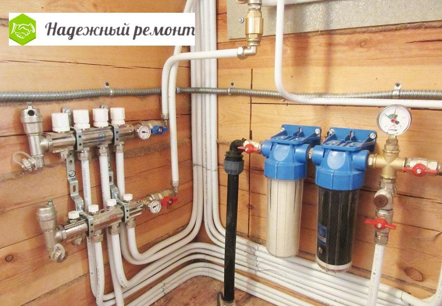 Монтаж водопровода в Омске