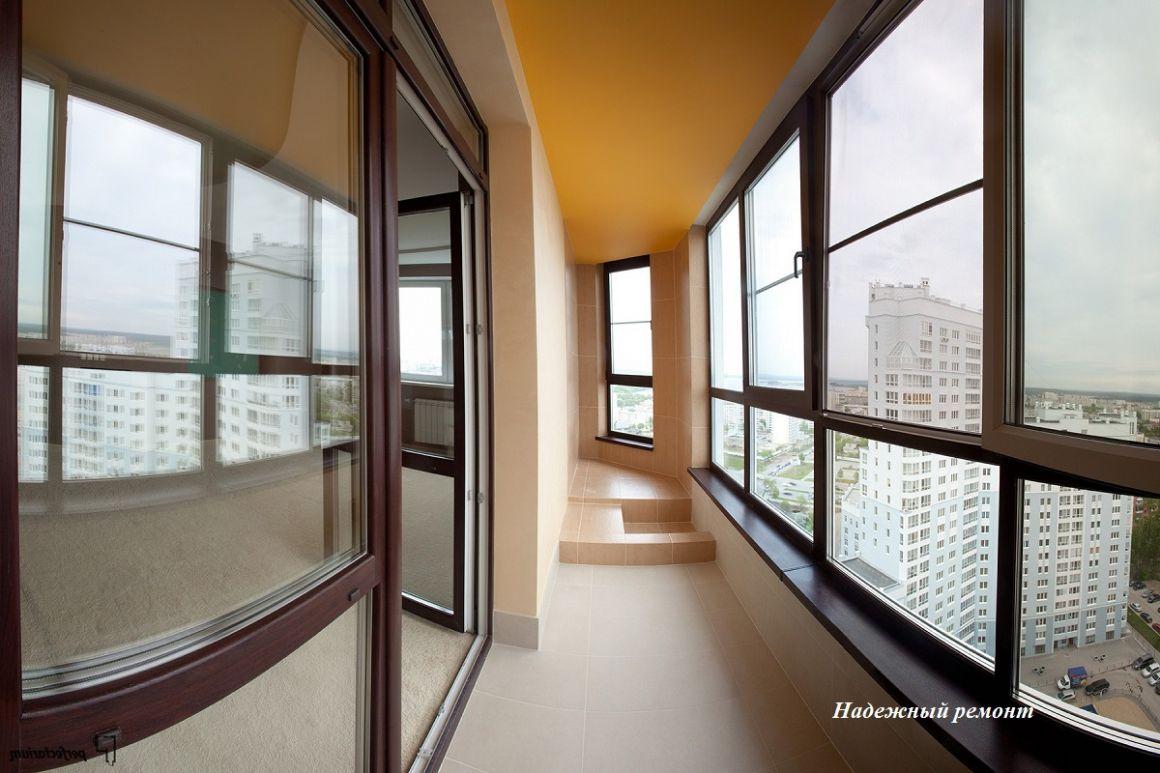Остекление балконов в Омске