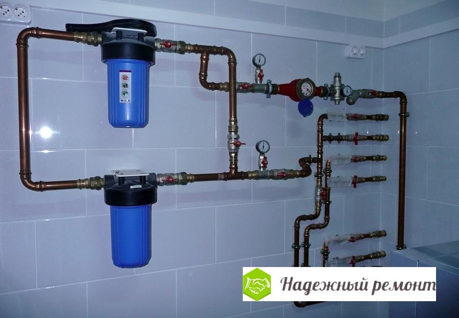 Монтаж водопровода Надежный ремонт