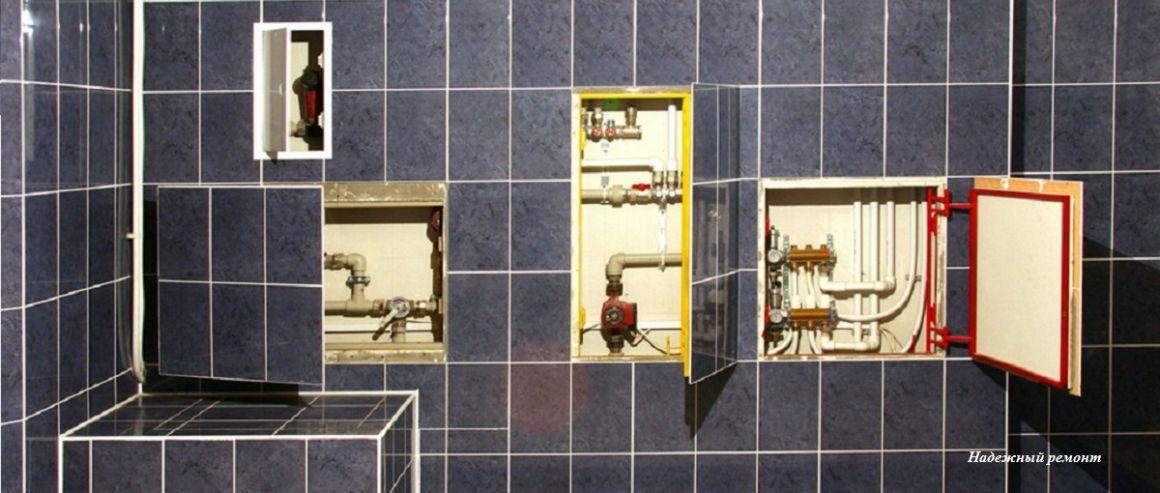 Изготовление съемных сантехнических лючков на магнитах