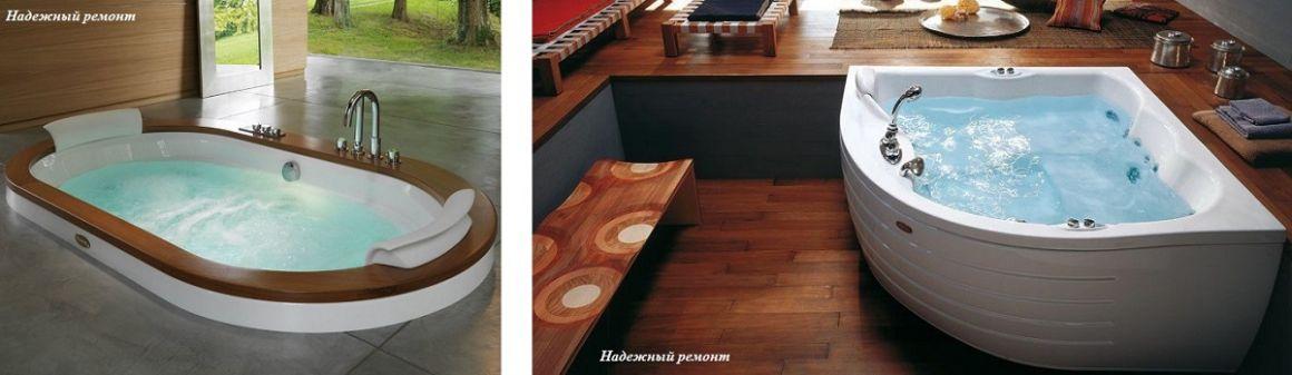 Установка ванны с гидромассажем (договорная) в Омске