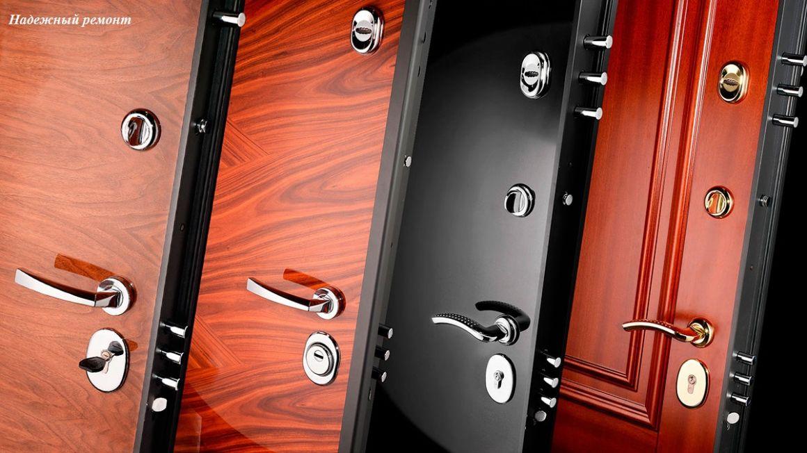 Установка металлической двери простой в Омске